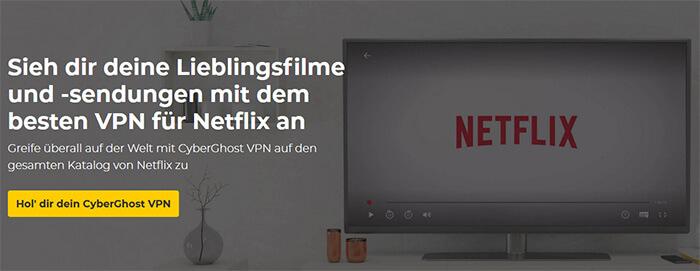 CyberGhost Netflix