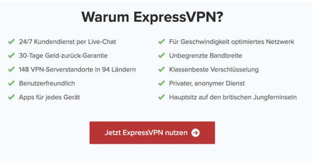 Warum ExpressVPN