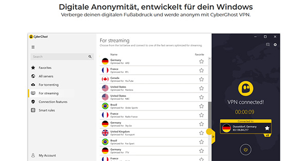 Windows CyberGhost