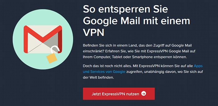 ExpressVPN auf Gmail