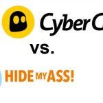 CyberGhost HideMyAss Vergleich