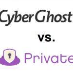CyberGhost PrivateVPN Vergleich