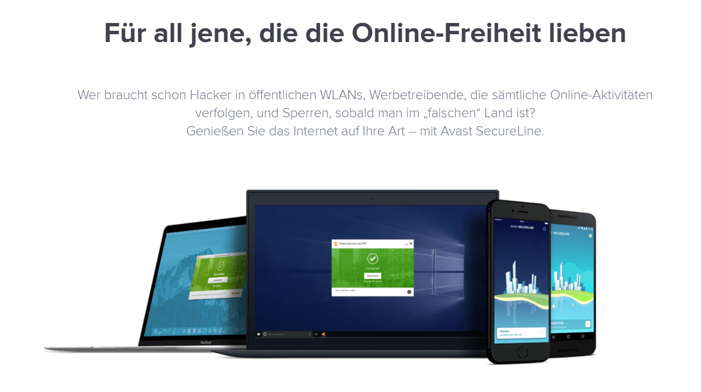 Avast SecureLine_Sicherheit