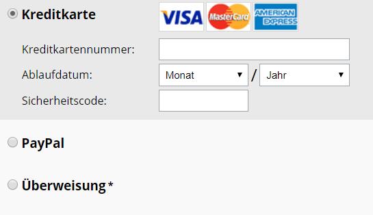 Avast SecureLine_Zahlungsarten
