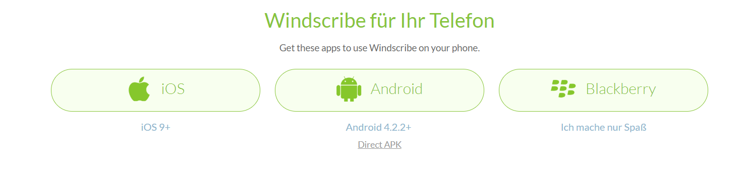Windscribe_Telefon