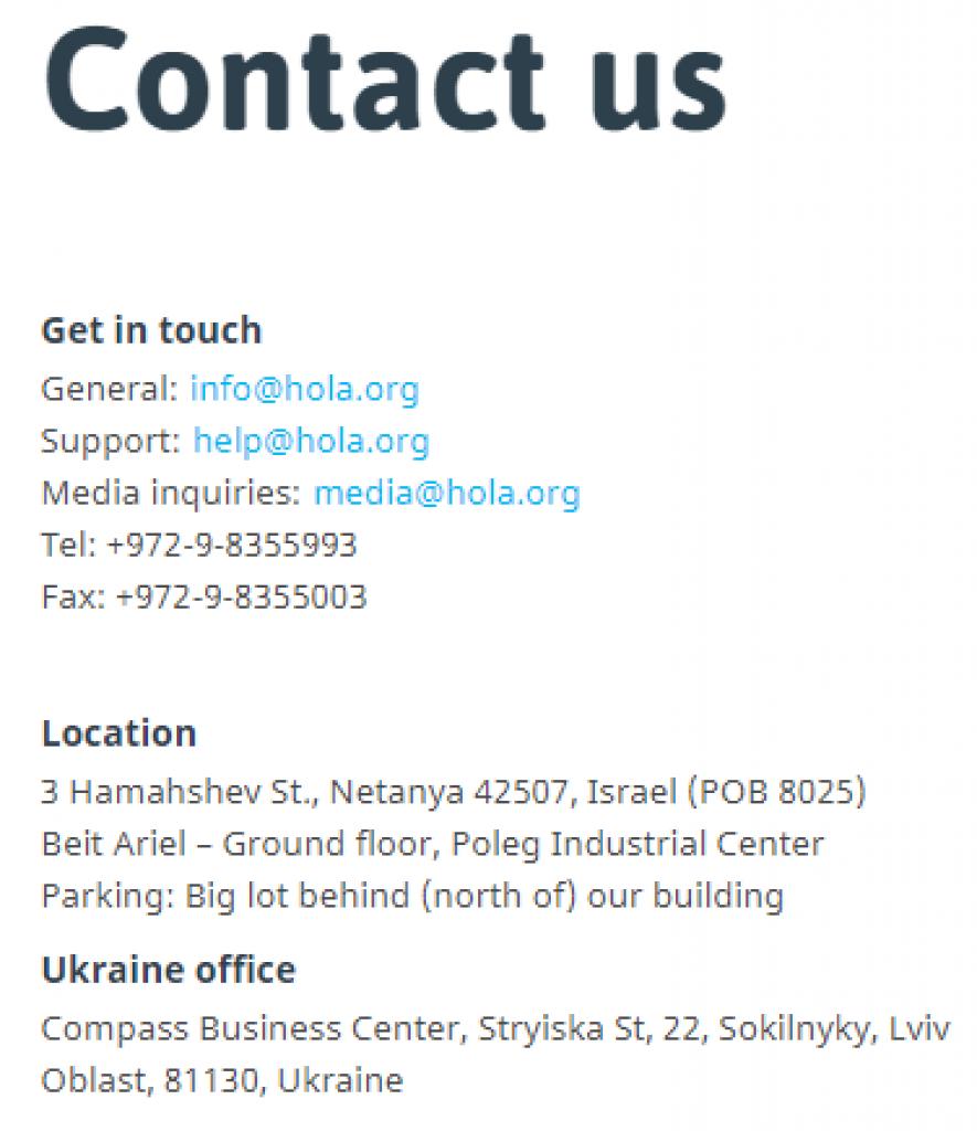 hola-kontakt