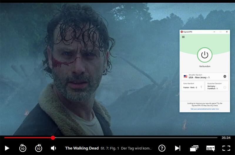 Netflix mit VPN