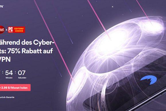 Black Friday und Cyber Monday 2019 bei NordVPN: Welche Angebote gibt es?
