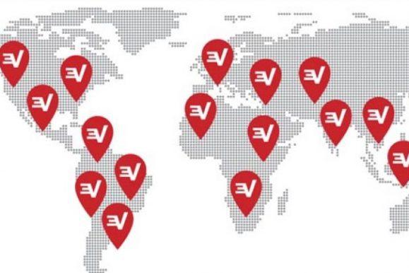Die Länder, in denen ExpressVPN verfügbar ist