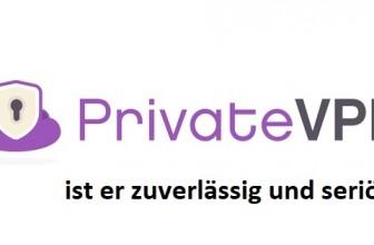 Ist PrivateVPN zuverlässig und seriös? Wie stellt er es unter Beweis?